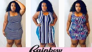 Come on Now Rainbow! | Spring Rainbow Plus Size Try On Haul + GIVEAWAY | HANNAH OLIVIA *CLOSED*