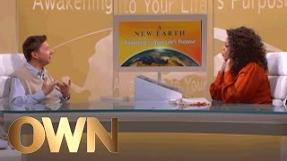 Is Eckhart Tolle Perfect? | A New Earth | Oprah Winfrey Network
