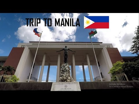 Vlog #6 Trip to Manila, Philippines | GoPro Hero 5 Black