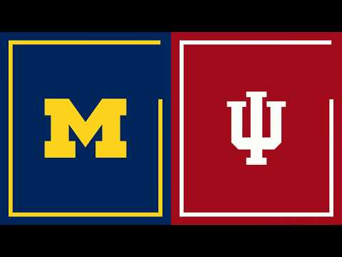First Half Highlights: Indiana at Michigan | Big Ten Football