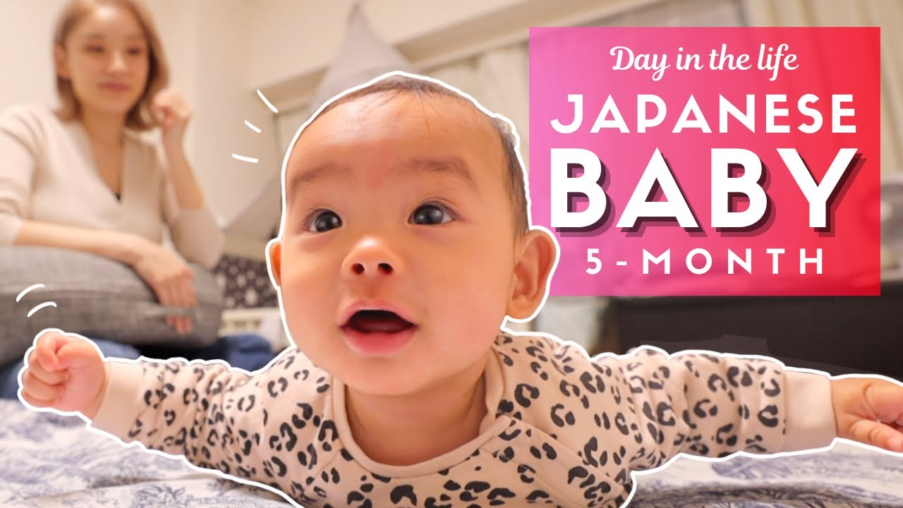 Day In The Life Of A Japanese Mom And Baby In Tokyo Youtube