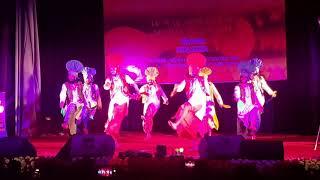 Bhangara- Kalehri Art & Culture Academy winner Team All India Pstal Cultural Meet At Kalkata
