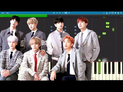BTS & Charli XCX - Dream Glow - Piano Tutorial (BTS World Soundtrack Pt. 1)
