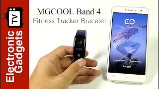 MGCOOL Band 4 Smartband Hands On