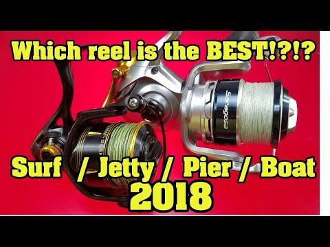 Penn Slammer 3 vs Shimano Saragosa SW Who makes the best Surf Jetty Pier Boat spinning reel?  Sealed