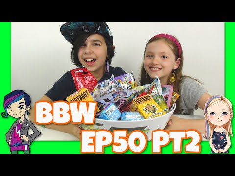 Blind Bag Wednesday EP50 PT2 - Shopkins, Doctor Who, Mario and More - Surprise Guest