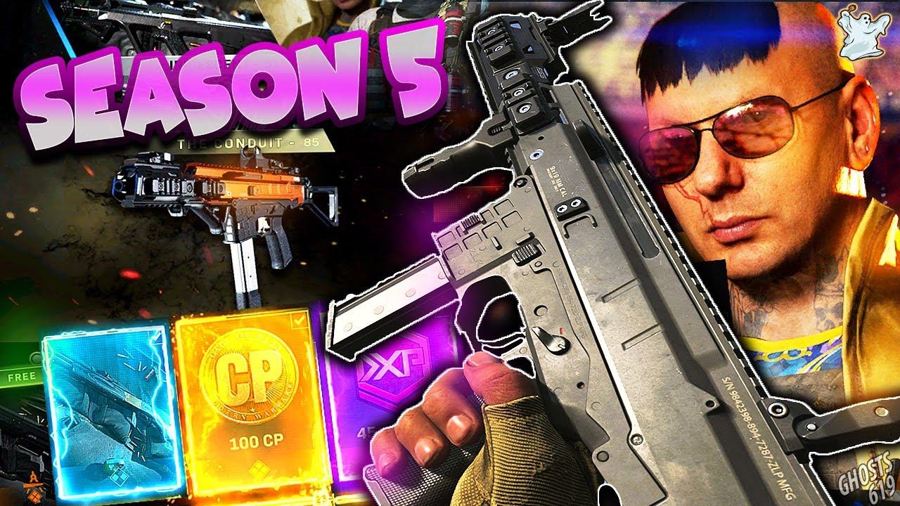New Modern Warfare Season 5 Battle Pass New Guns New Inspects Youtube