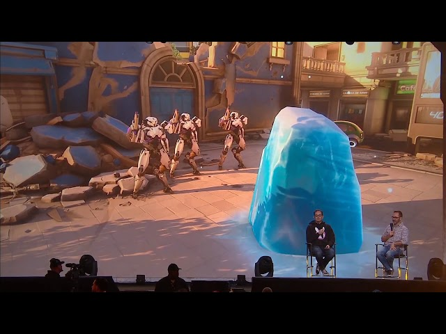 BlizzCon 2019 Overwatch 2 - Mei Cold Snap Talent