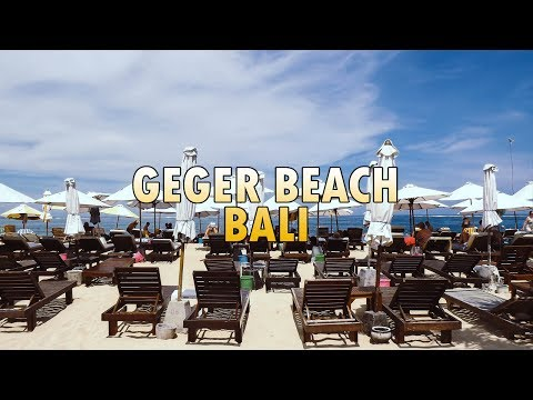 Geger Beach Nusa Dua - Most Popular Clean Beach in Bali