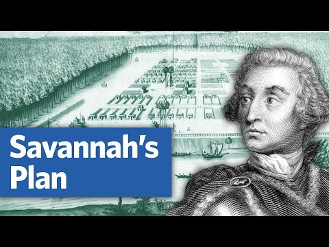 Savannah's mysterious historic plan