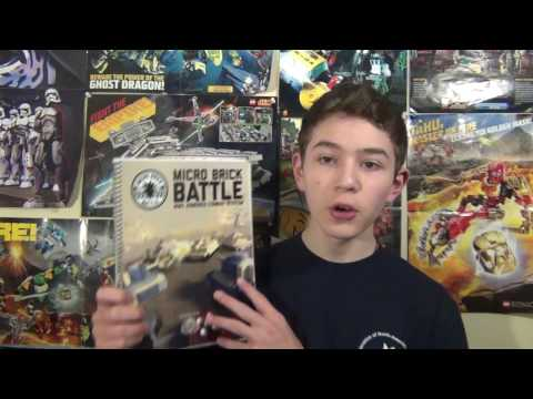 Brickmania Micro Brick Battle instructions book review