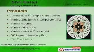 Marble Inlay Flooring By Shri Balaji Cottage Industries, Agra