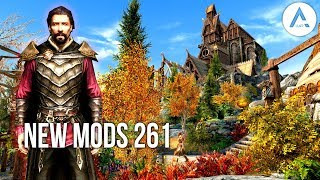 5 Brand New Console Mods 261 - Skyrim Special Edition (PS4/XB1/PC)