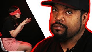 Surprise Staring Contest With Ice Cube