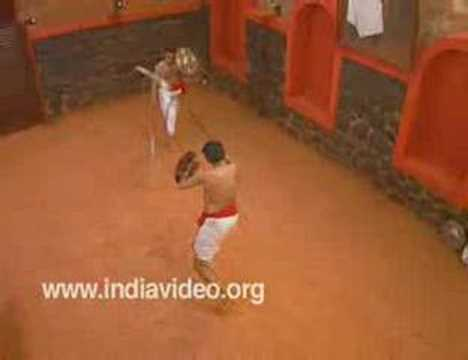 Urumi- the lethal weapon in Kalaripayattu