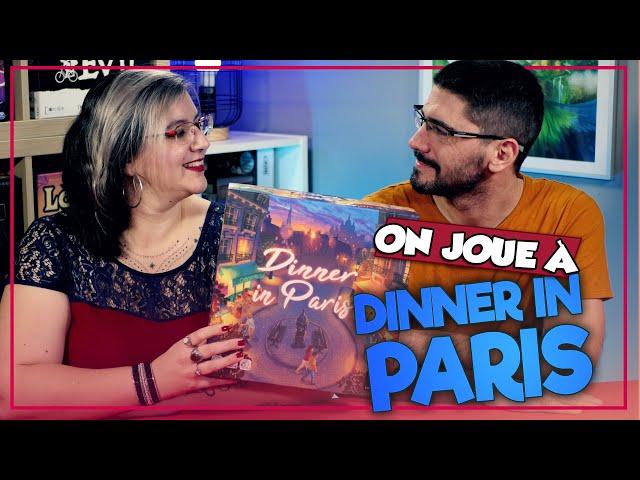 [On joue à] DINNER IN PARIS chez Funnyfox