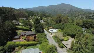 Stunning Gated Knoll Top Property in Mill Valley, CA