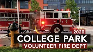 College Park Volunteer Fire Department - 2020 Banquet Video