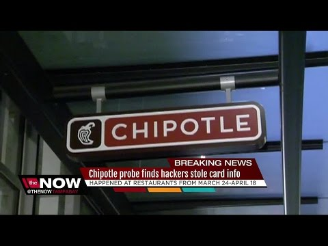 Chipotle: Hackers stole payment card info in data breach