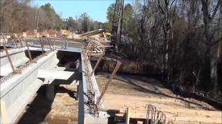 Chesterfield Sc Thompson Creek Bridge Build.
