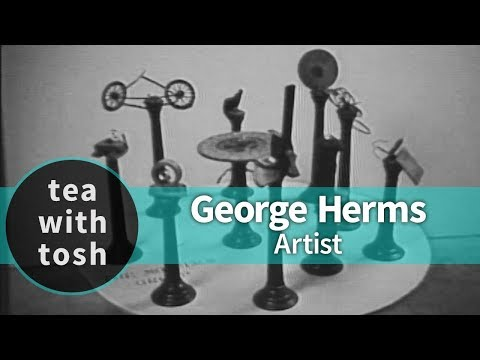 George Herms Artist on Tea With Tosh