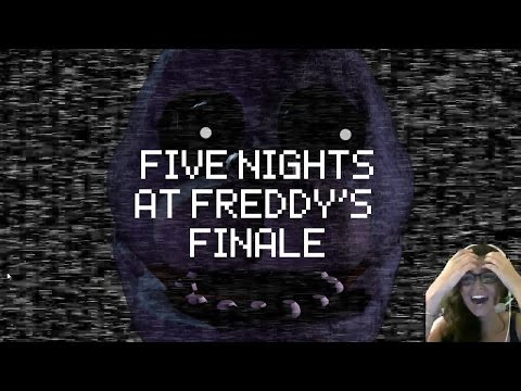 Final Five Nights at Freddy's! Twitch stream Highlights