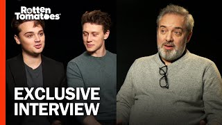 James Bond Gave Sam Mendes the Confidence to Make '1917' | 1917 Interview | Rotten Tomatoes