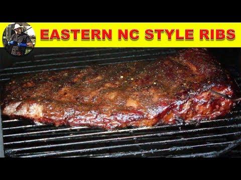 Eastern North Carolina Style Spare Ribs