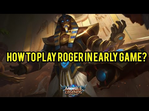 Roger Tutorial [How to play Roger in early game] thumbnail