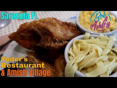 Yoder's Restaurant Amish Village Sarasota Fl - Ashley's Grandma's 93rd Birthday