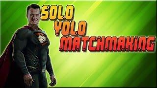 """PASHABICEPS SOLO """"YOLO"""" MATCHMAKING"""