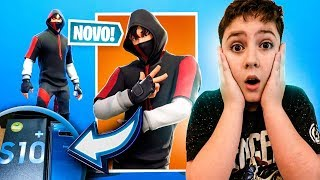I BOUGHT the GALAXY S10 + and RELEASED the RAREST SKIN OF the GAME AT FORTNITE (Ikonik)