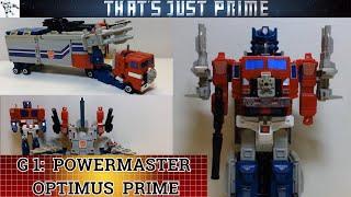 Transformers Generation 1 PowerMaster Optimus Prime Review!