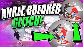 GLITCHY ANKLE BREAKER DRIBBLE MOVE IN NBA 2K20! BEST DRIBBLE MOVE IN NBA 2K20!