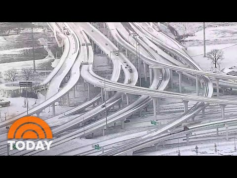 Major Winter Storm Unleashes Ice, Snow, Record Cold Across US | TODAY