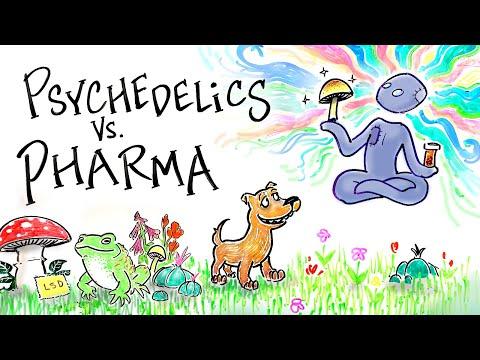 Psychedelics Vs. Pharmaceuticals