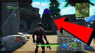 *NEW* SECRET MISSILE LAUNCH SITE ROOM LOCATION! SECRET LOCATION FOUND IN FORTNITE SEASON 4!