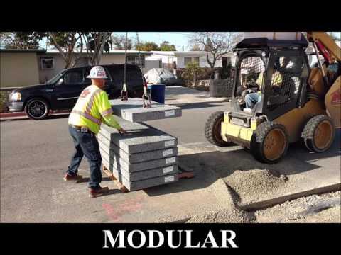 Stormcrete - Modular Precast Porous Concrete Paving Slabs