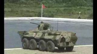 Russian Expo Arms 2002 BTR 80A, BRDM 2, VODNIK