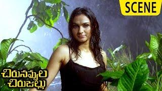 Jiiva Slaps Andrea For Misbehaving - Emotional Scene - Chirunavvula Chirujallu Movie Scenes