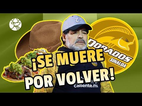 ¿De regreso a Dorados? | Maradona extraña el futbol mexicano