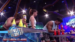 Mouth To Mouth | Minute To Win It - Last Tandem Standing