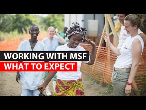 Working with MSF | What to expect