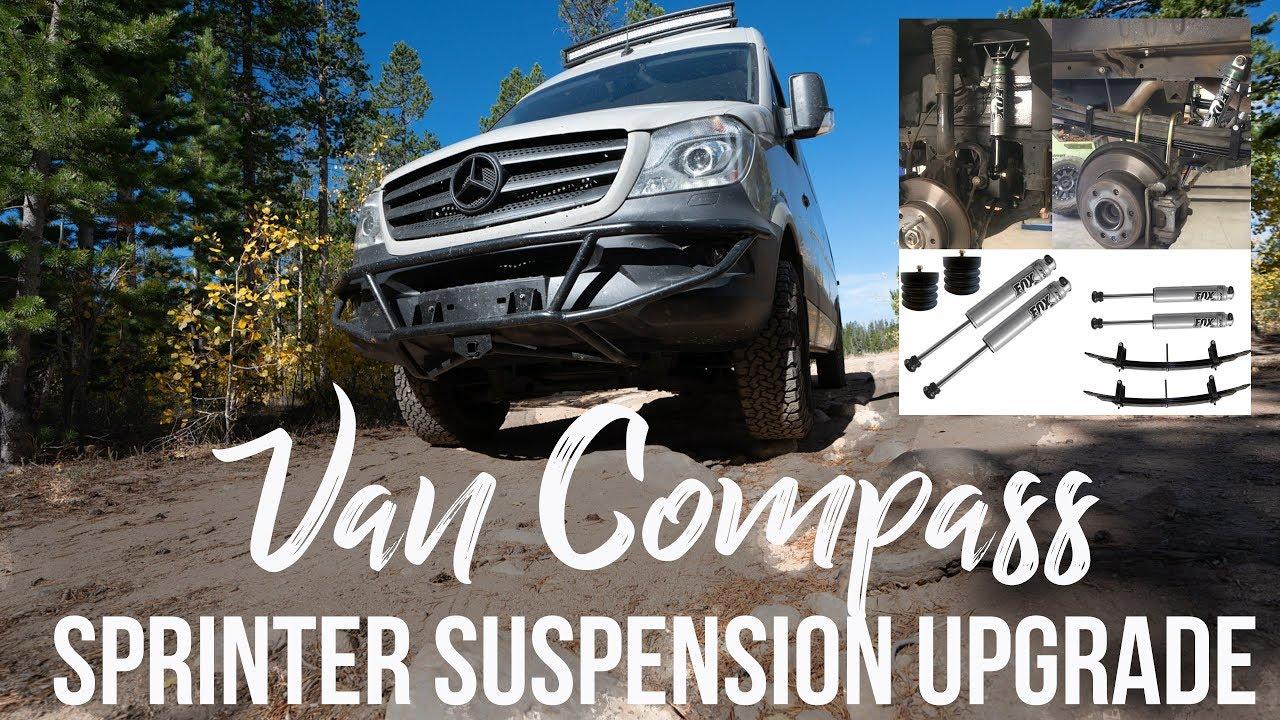 Sprinter Van Suspension Upgrades: Van Compass Review