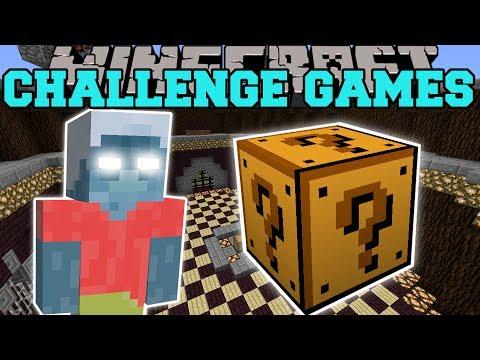 Minecraft: EVIL STEVE CHALLENGE GAMES - Lucky Block Mod - Modded Mini-Game