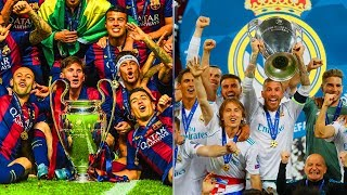 UEFA Champions League Winners II 1956 - 2018 II