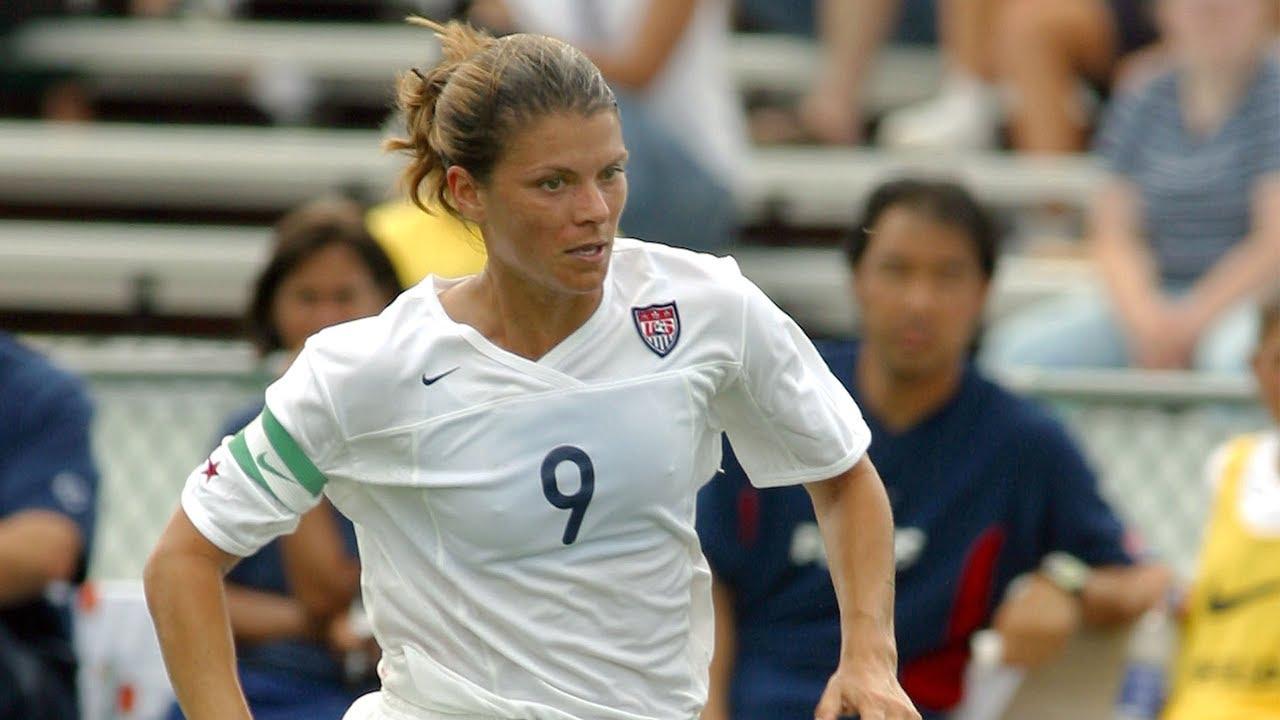 37ceac6d77e WNT vs. Brazil: Mia Hamm Goal - May 22, 1999 - YouTube