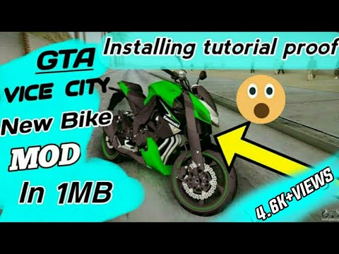 🌕NEW!!2019!!BEST MOD 🌑BIKE MOD FOR GTA VICE CITY!!!!!ONLY 1MB WITH INSTALLATION AND GAMEPLAY PROOF