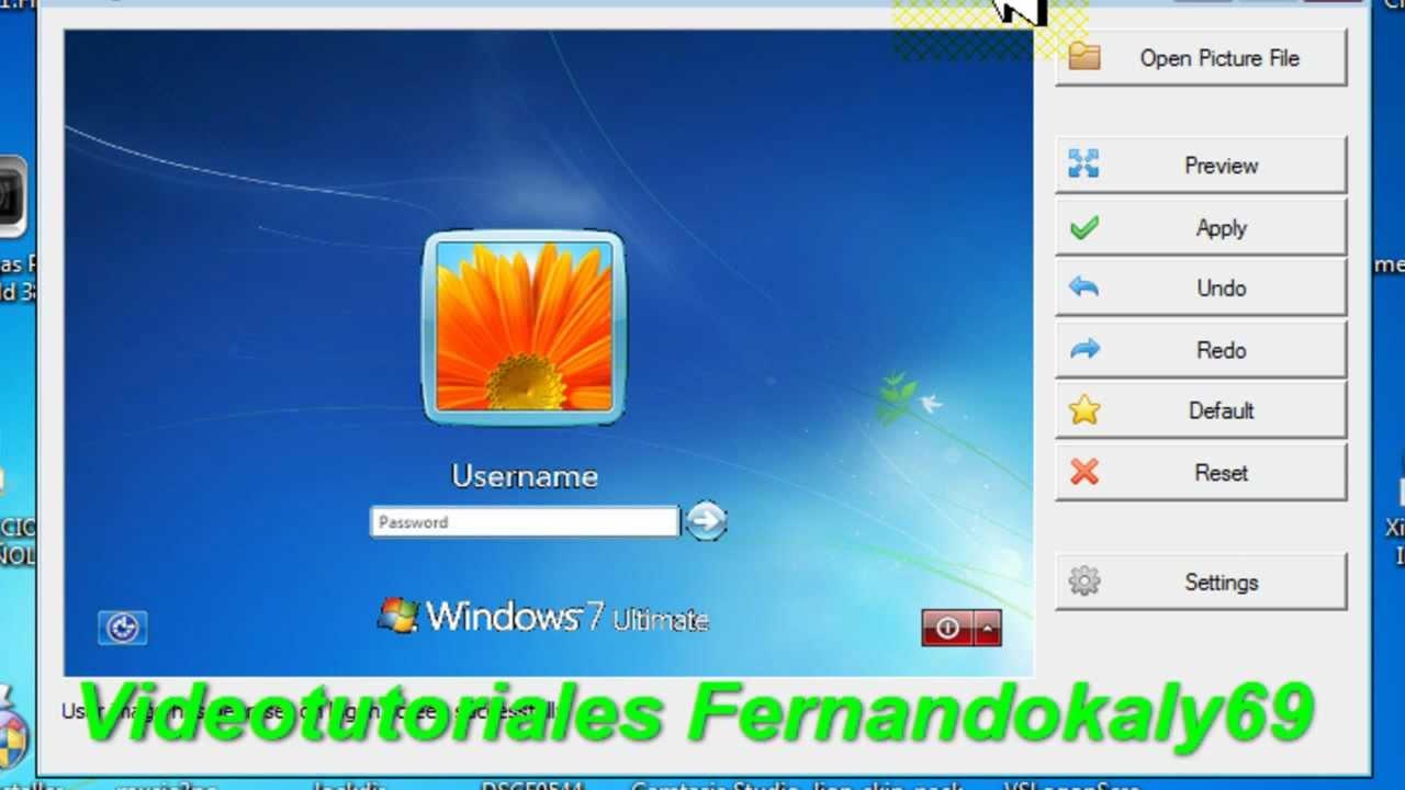 Cambiar Papel Tapiz O Fondo De Inicio Windows 7 O Vista