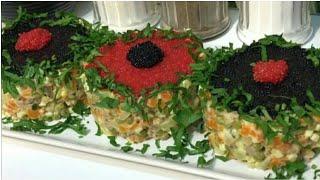 ТОП 5 Самых Быстрых и Вкусных Салатов на Новогодний стол